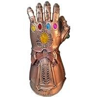 Avengers Infinity War New Thanos Glove Left Hand Gloves Infinity Latex Gauntlet Action Figure