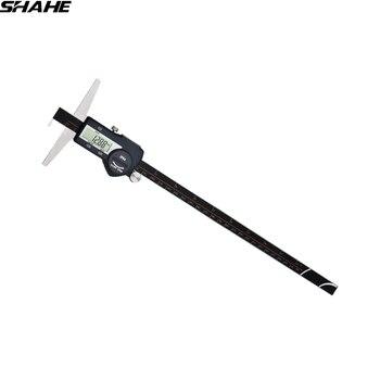 0-300 mm Single Hook depth gauge depth vernier caliper digital depth gauge stainless steel paquimetro digital