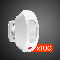 100PCS Wholesale KERUI Wireless Window Curtain PIR Motion Sensor Circuit Design 433MHz For Home Alarm System