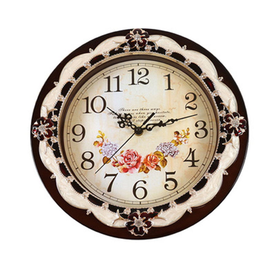 Us 27 7 50 Off Large Silent Wall Clock Modern Design Clocks Vintage Electronic Wall Clock Kitchen Shabby Chic Farmhouse Decor Watch Home Art B9 In
