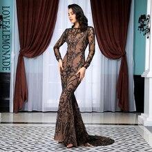 ארוך שמלת פתוח דבק