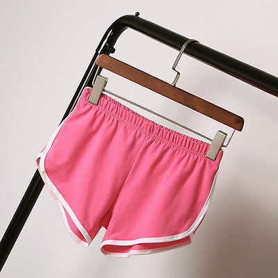 Hot ABC Women Summer Casual Sexy Shorts Slim Famme Casual Loose Cotton Elastic Waist Short