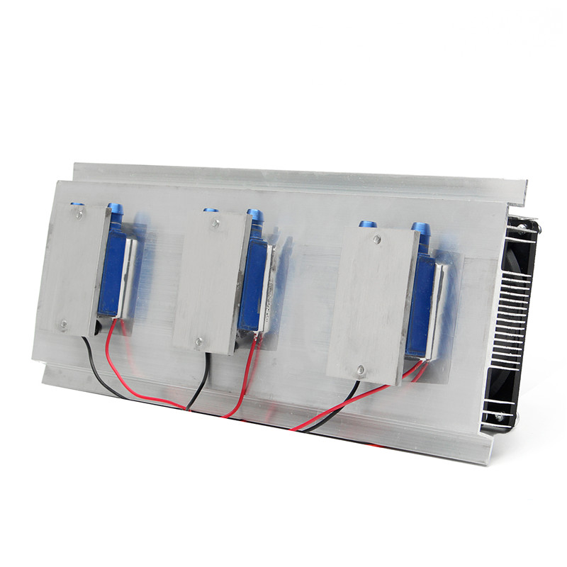 288W Thermoelectric Peltier Refrigeration Cooler DC12V Semiconductor Air  Conditioner Cooling System DIY Kit For Air Conditioner
