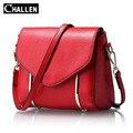 100% real genuino bolsos de cuero de las mujeres bolsos de marcas famosas bolsas de diseñador italiano de lujo mini mensajero del hombro del bolso de mano femenino