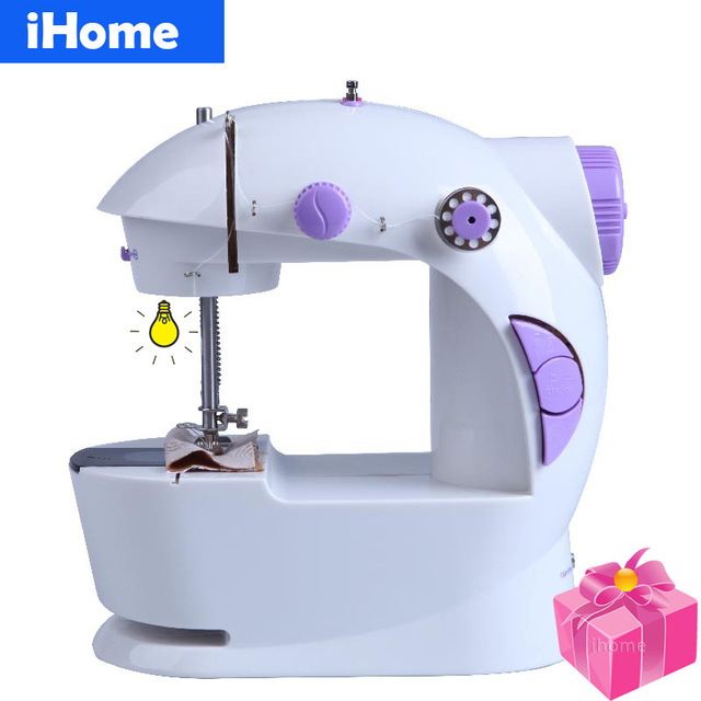 Best Quality Electric Household Sewing Machine Mini LED Light And Power  Supply 2 Speeds Handwork DIY
