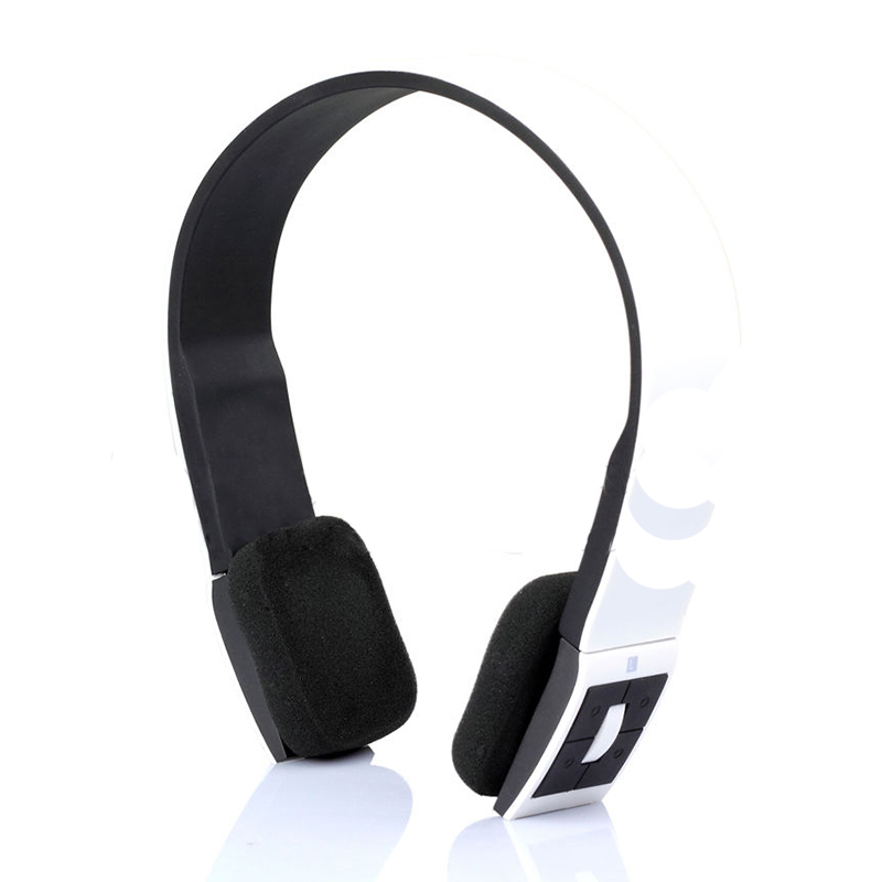 Wireless Bluetooth 3.0 Stereo Headset Headphones For iPhone4 4s 5 Galaxy S3 S4 White