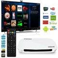 Caixa de TV Android 4 K 1 GB RAM + 8 GB ROM Caixa de TV X700 Quad Core Android 4.4 Conjunto Top Box Full HD Mini Smart TV Box IPTV KODI jogador