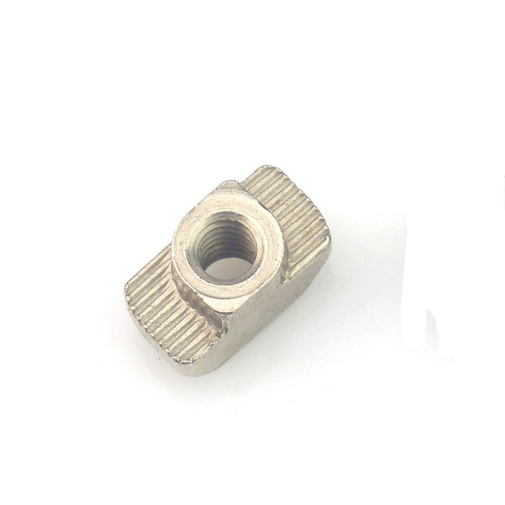 10pcs M3 M4 M5 Nickel Plated T nut Hammer Head Fasten Nut for Aluminum Extrusion Profile 2020/3030/4040/4545 series цена