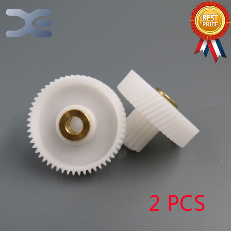 2Pcs/Set Meat Grinder Parts Gear Plastic Gear Fit MG-2501-18-3 Elenberg New Unused Free Shipping free shipping meat grinder parts plastic gear parts for meat grinder mg 2501 18 3 fit elenberg