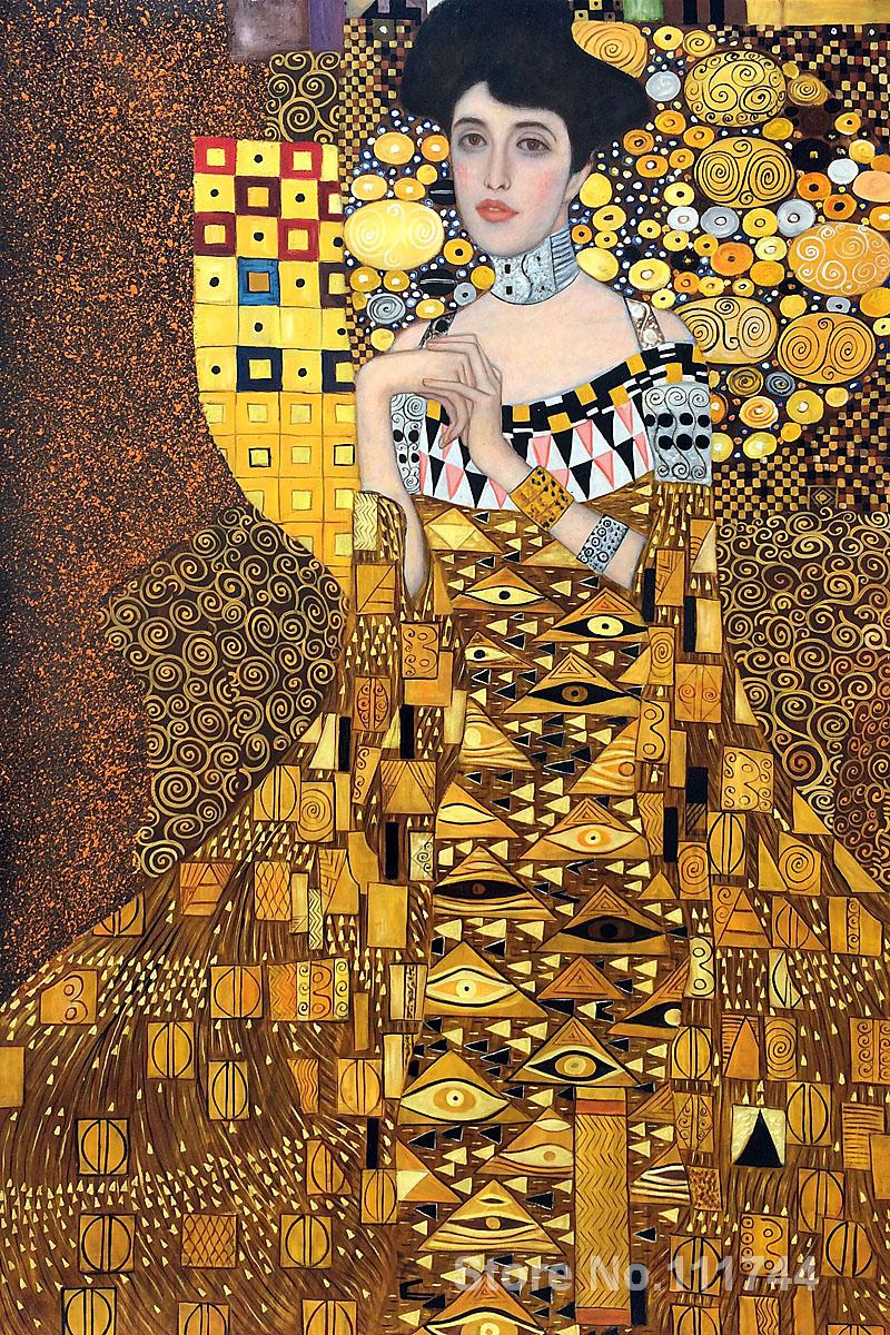 Adele Gustav Klimt Paintings