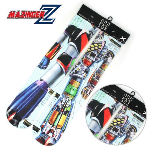 "4x16"" Anime Mazinger Z Symbol Short Cotton Socks Colorful Stockings Tights Cosplay Costume Unisex Fashion Otaku Gifts Cool"