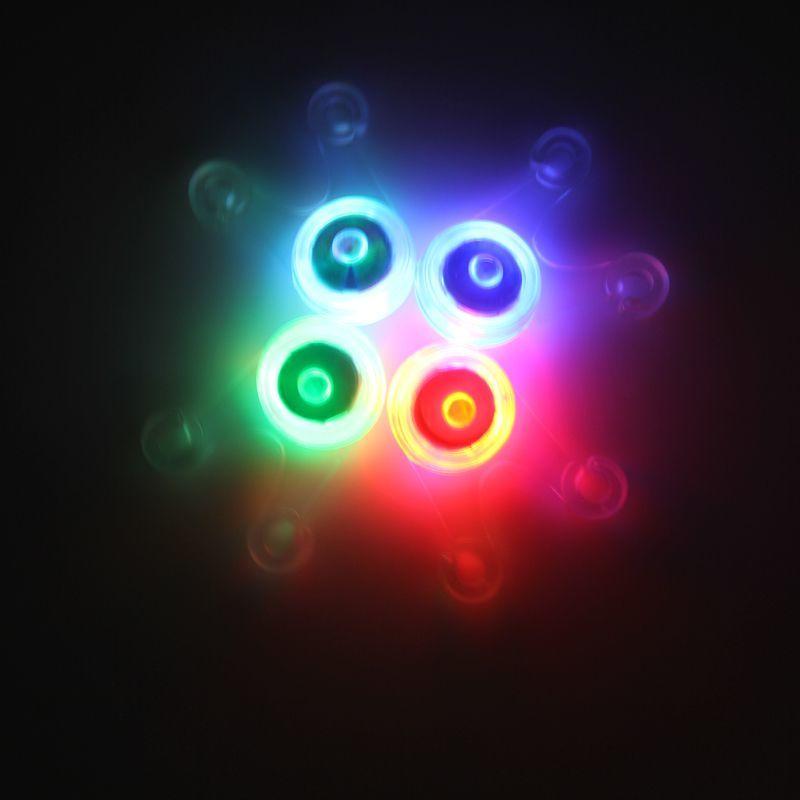 Велоспорт Светодиодный фонарь велосипед светодиодный прицепа, задние фары велосипед CR23032 батареи висит вспышки света