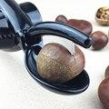 Многофункциональный 2-в-1 Быстрый нож с зажимом для Каштанов  гайка  Cracker Sheller щипцы для грецких орехов металлический Гайка открывалка алюмин...