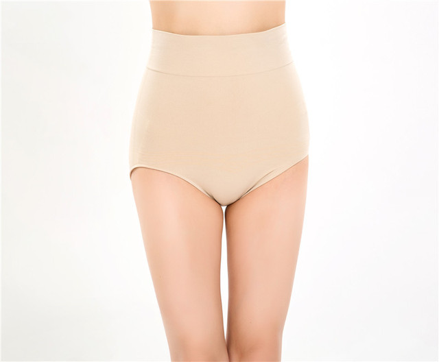 70a3ca145b7 Wholesale Women High Waist Shaping Panties Breathable Body Shaper Slimming  Women Underwear Trainer Brief Tummy Control
