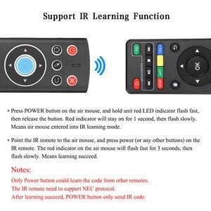 Image 3 - เสียงรีโมทคอนโทรลAir Mouse 2.4G Wireless Control Mic Gyros IRการเรียนรู้สำหรับAndroid TVกล่องGoogle Youtube PK g10 G20S
