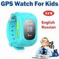 2016 Смартфон Kid Safe GPS Наручные Часы SOS Вызова Расположение Finder Locator Tracker для Детей Ребенка Борьбе Потерянный Монитор