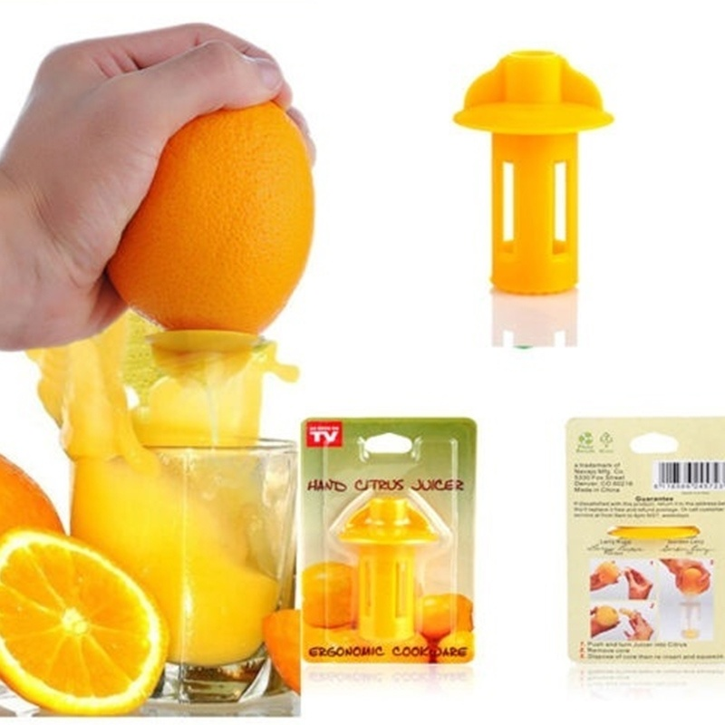 2 pcs High quality Mini Manual Hand Citrus Juicer Orange Plastic Squeezer Lemon Fruit Press Juice Fruit Tools