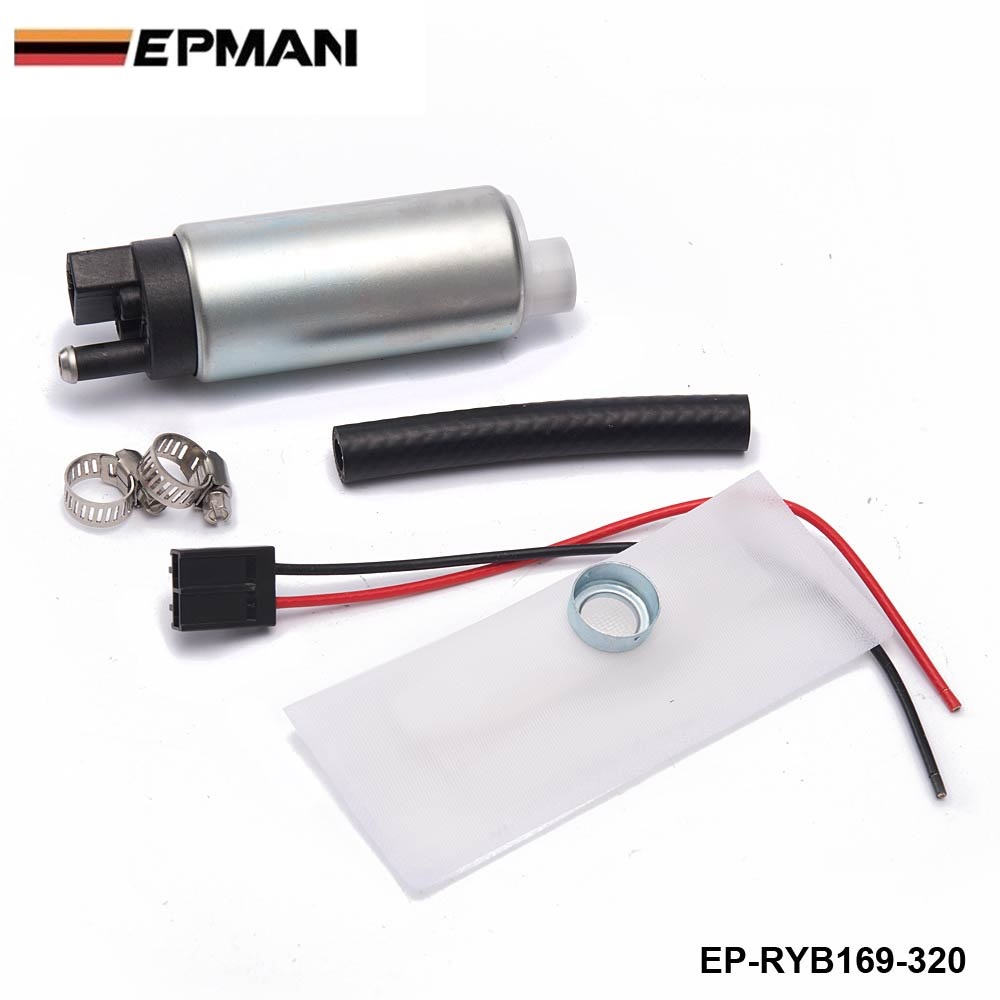 320LPH High Performance Fuel Pump F20000169 255LPH  for Tuning Racing Cars EP-RYB169-320