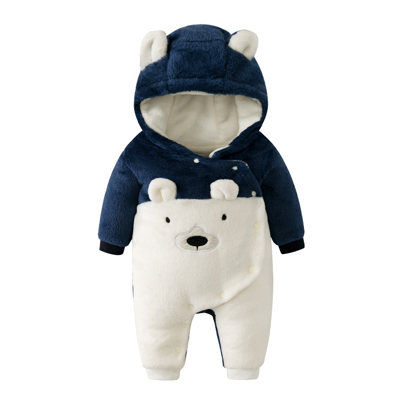 New Born Baby Outerwear Animal Costumes Girl Clothes Plush Jumpsuit Pajamas Velvet Romper Boy Clothing Winter For Babies Body newborn infant baby romper cute rabbit new born jumpsuit clothing girl boy baby bear clothes toddler romper costumes