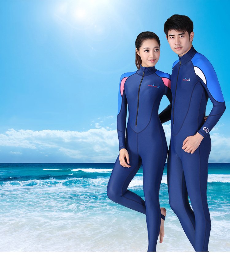 Diving suits for men and women multi-functional sunscreen diving suits surf snorkeling jellyfish swimwear 2018 new women s postpartum swimwear ladies sunscreen clothing ladies swimwear suit surf clothing diving clothing swimwear vy715