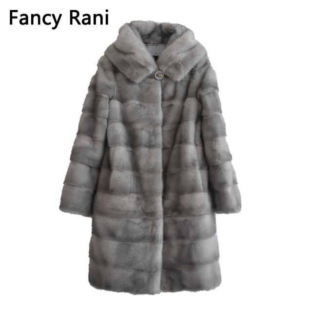 Winter Russian Women Real Natural Mink Fur Coat Big Hood Mink Fur Female Genuine Fur Jacket Hooded Detachable Sleeve Customized