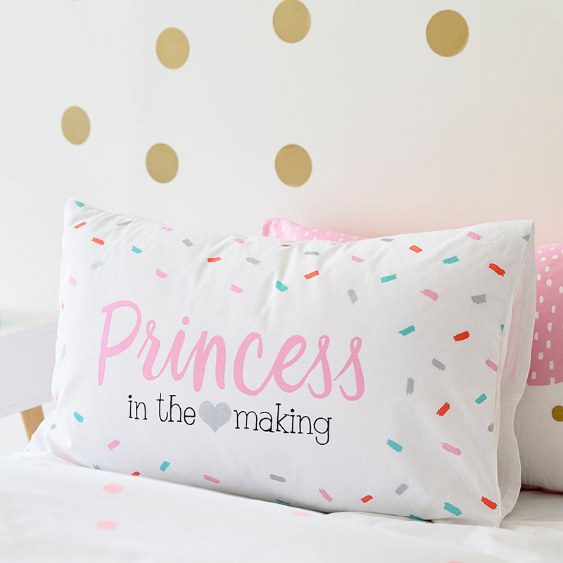Cotton 48x74cm Pillow Cases Kids Cartoon Girls Boys Decorative Nordic Style Cushion Cover No Inner Child