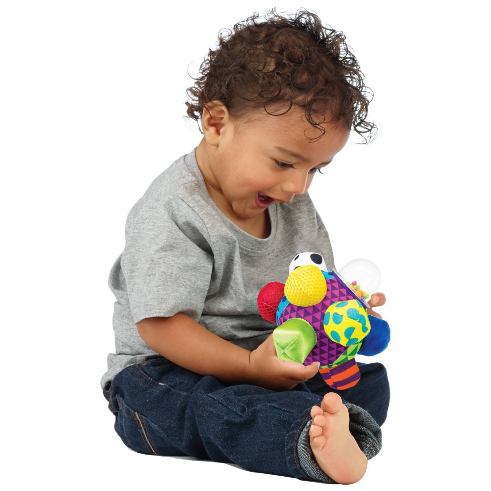Bumpy Ball For Baby Developmental Bright Color And Easy-to-grasp Pk Sassy Brand New