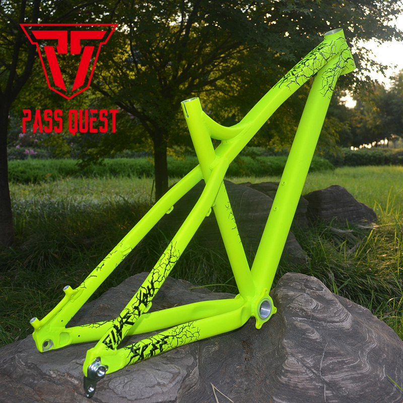 PASS QUEST 27.5inch Mountain Bike Frame Disc Brakes Frame Aluminum Alloy Frame Bicycle Accessories
