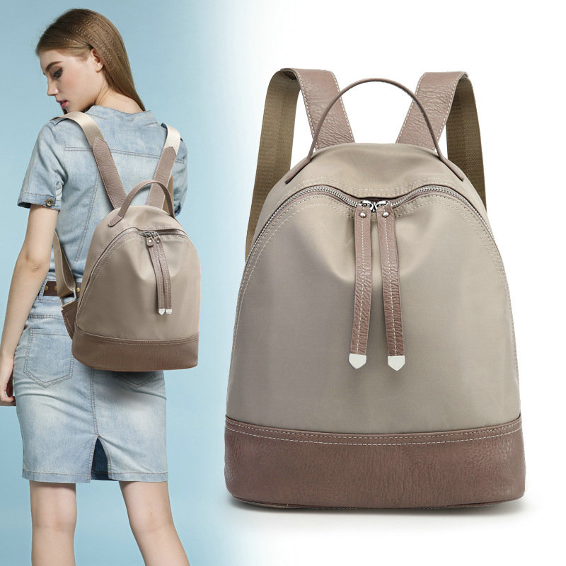 NEW 2017 Quality Oxford Cloth Women Backpacks Leisure Travel Bags Zipper Waterproof Nylon Shoulder Bag Female Backpack for iPAD 2017 fashion women waterproof oxford backpack famous designers brand shoulder bag leisure backpack for girl and college student