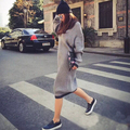 New arrive 2015 Fashion Autumn Winter knitted Sweater Designer Knitwear Women Clothing Casual Loose Pullovers Sweater outerwear