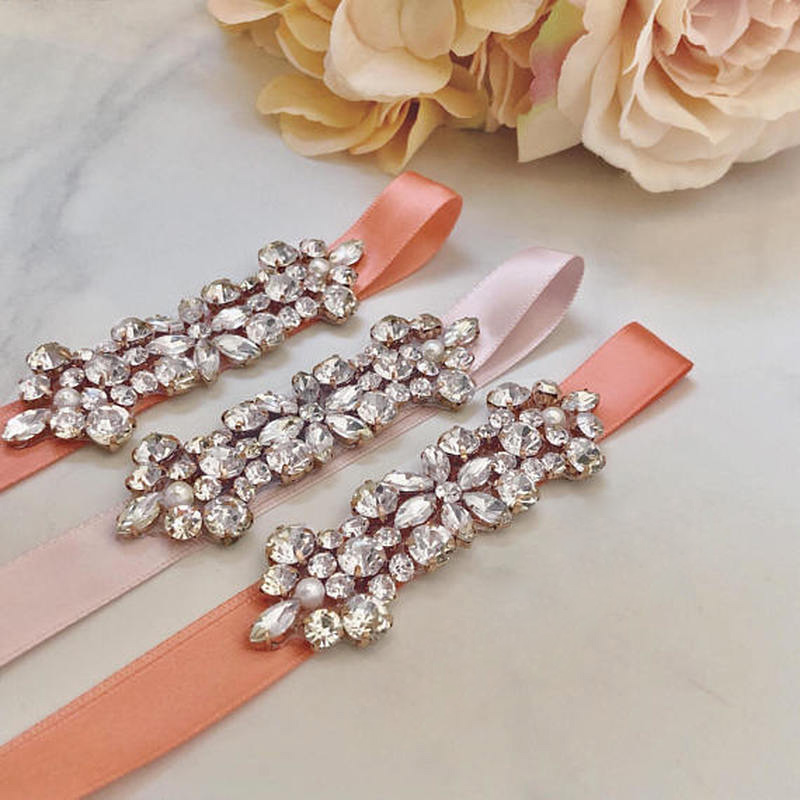 Flower Belts For Wedding Dresses: JLZXSY Cheap Fashion Flower Style Crystal Rhinestone