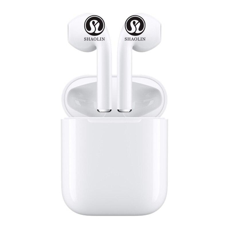 Écouteurs Bluetooth écouteurs sans fil casque stéréo écouteurs intra-auriculaires avec boîte de charge pour iPhone et téléphone Android - 2