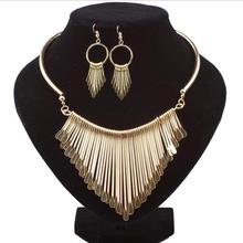 Fashion Bijoux Jewelry Set Tassel Necklace