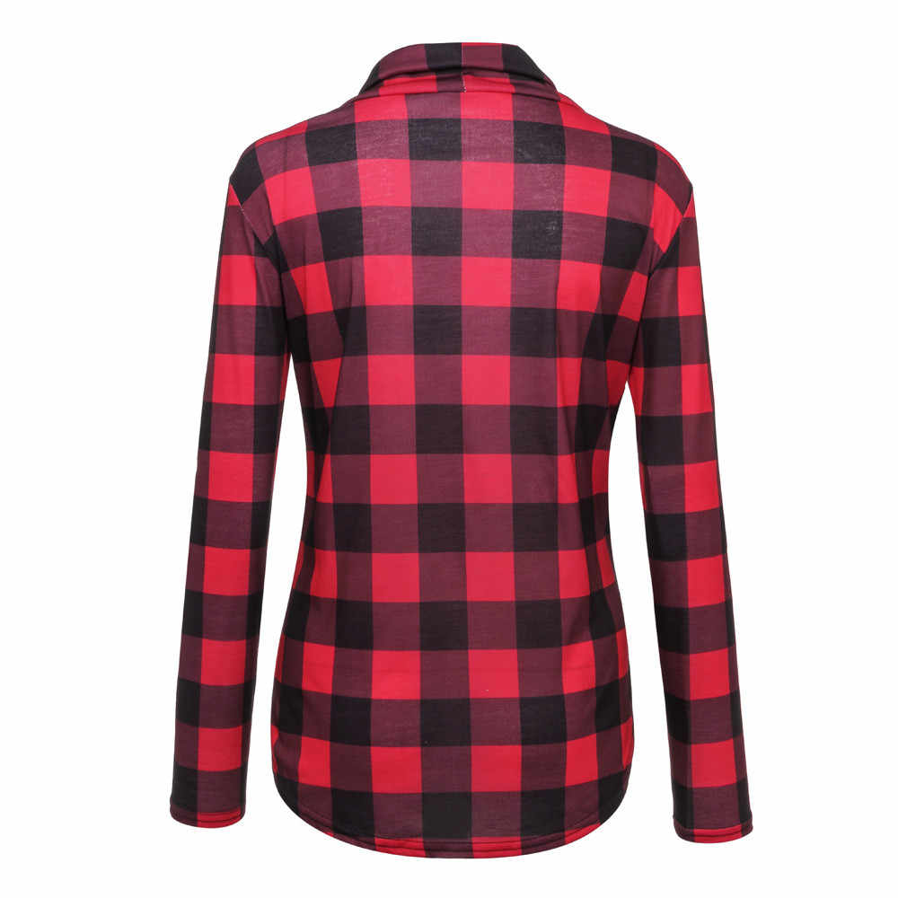 Hoodies Sweatshirt Vrouwen Harajuku Streetwear Plaid Hoodie 2020 Winter Vrouwen Mode Kleding Kawaii Koreaanse Moletom