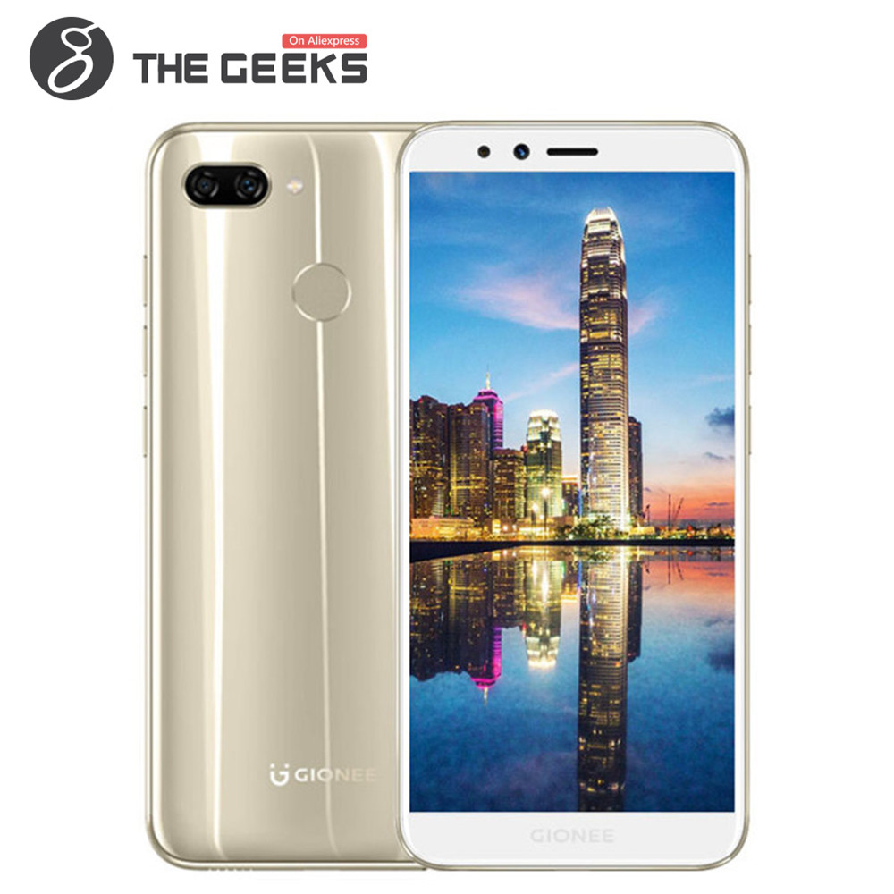GIONEE S11 LITE 5.7 Inch 4GB RAM 32GB ROM Snapdragon 430 1.4GHz Octa Core HD+ Full Screen Dual Camera Android 4G LTE Smartphone
