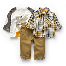 Toddler Boys Clothing Set Winter kids Clothes 2 3 4 5Years Atummn 2018 Chilidrens Wear Outfits Jeans Suit Baby Two piece