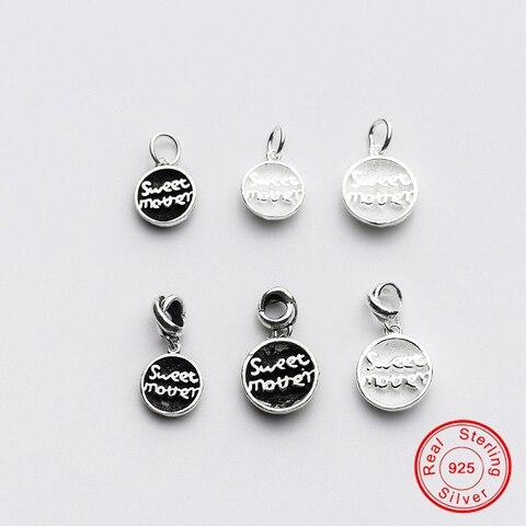 Uqbing винтажные 100% Стерлинговое Серебро 925 пробы милые с