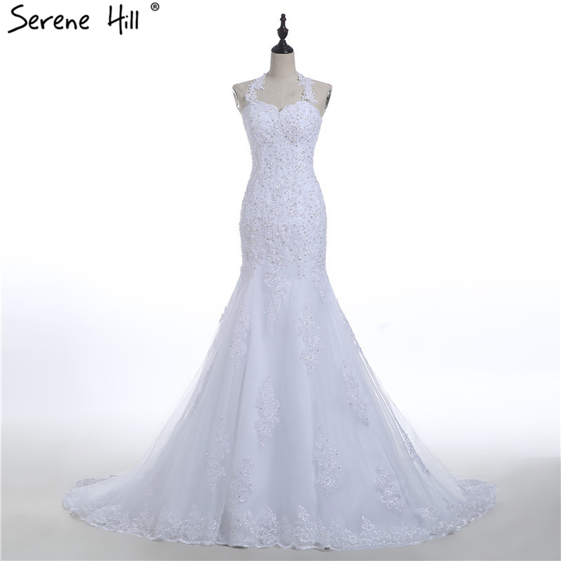 Halter Wedding Dress Robe De Mariage Vestido De Noiva Princesa 2019 Bridal  Gown Vestido De Casamento 8f7920fb71bb