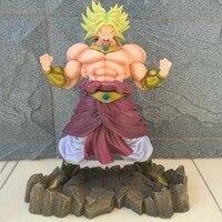 Dragon Ball Z Action Figure Broli Dragon Ball PVC Model Toy Super Saiyan Broli Figure Esferas Del Dragon DBZ Figuras