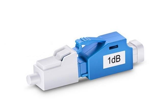 QIALAN LC/UPC 1dB to 10dB Singlemode Fixed Fiber Optic Attenuator, Male Female,-in Fiber Optic Equipments from Cellphones & Telecommunications