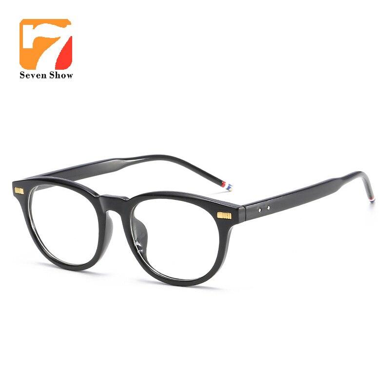 6e146565f89ca 2017 Thom Browne Óculos de Marca Mulheres Homens dos Quadros dos Vidros  óculos Espetáculo Prescrição Óculos de Miopia Armações de Óculos Claros  Óculos tb
