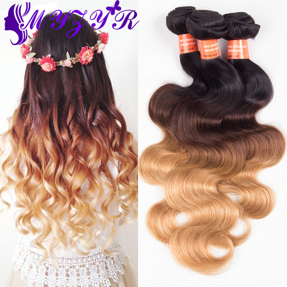 ombre 3 tone brazilian hair body wave ombre brazilian hair weave bundles 1b 4 27 xuchang t hair. Black Bedroom Furniture Sets. Home Design Ideas
