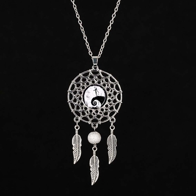 Flying witch necklace halloween witch pendant dream catcher jewelry flying witch necklace halloween witch pendant dream catcher jewelry silver dreamcatcher necklace aloadofball Gallery