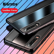 P30 Pro Cases DEER Patterned Soft Cloth Cover for HUAWEI Case Leather Black Plexiglass Shell Huawei Matte Coque