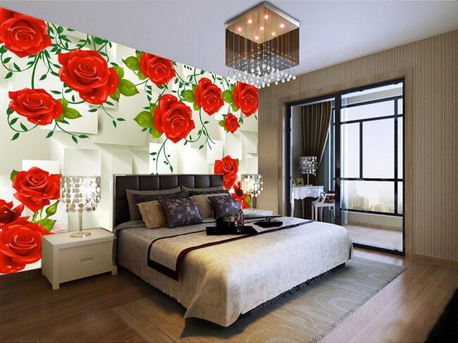 3d wallpaper custom mural non-woven 3d room wallpaper 3 d rose pattern cube paintings murals photo 3d wall mural wallpaper custom photo mural modern minimalist 3d white rose non woven wallpaper for living room sofa background 3d wall murals wallpaper