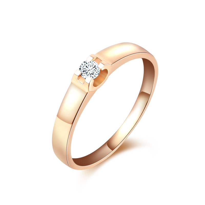 18 Karat Gold Diamant-ring Paar Auf Dem Ring Hochzeit Ring Diamant-ring Platin...