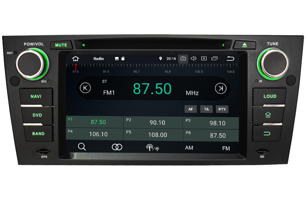 "Discount 7"" Octa Core 4G WIFI Android 8.1 4GB RAM 64GB ROM RDS Car DVD Multimedia Player Stereo Radio For BMW E90 E91 E92 E93 2005-2012 2"