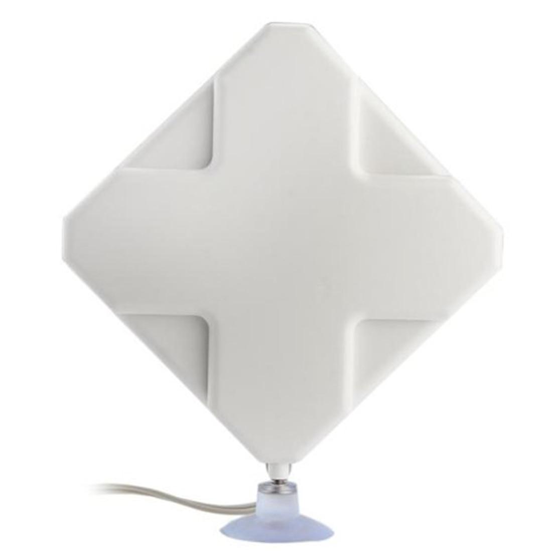 Etmakit 4g antena CRC9 conector 35dBi Antena de banda ancha amplificador de señal para 3G 4G LTE móvil