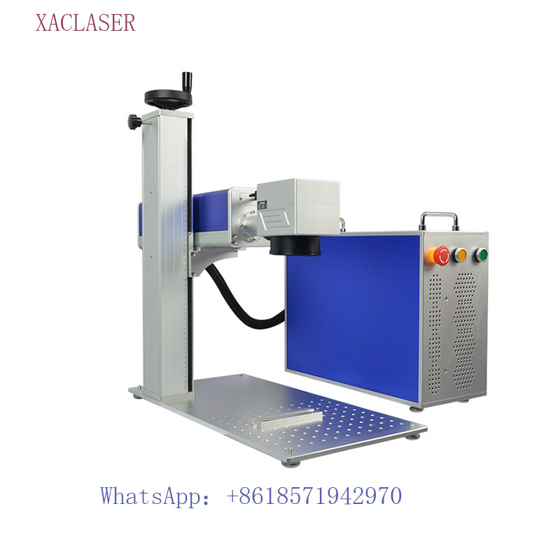 Best Service 20W portable fiber laser marking machine for accessories knives eyeglasses and clocks