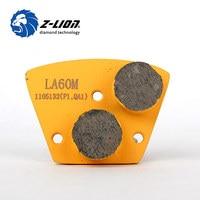 Z Lion Diamond Grinding Discs For Concrete Terrazzo Floor Metal Bond Floor Grinding Disc Trapezoid